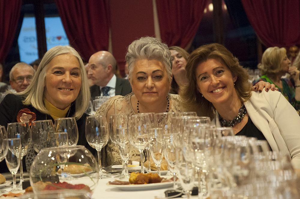 Mercedes Wullich, Belén Arén y  María Sánchez-Arjona