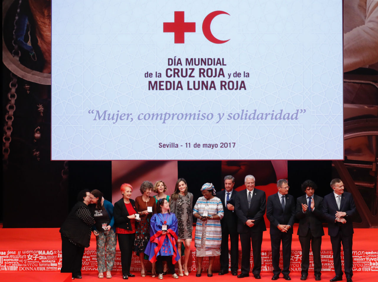 Lady Isabel brilla con luz propia en la Gala de Cruz Roja