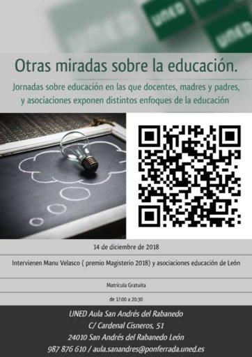 CONFERENCIA DEBATE «OTRAS MIRADAS SOBRE LA EDUCACIÓN»