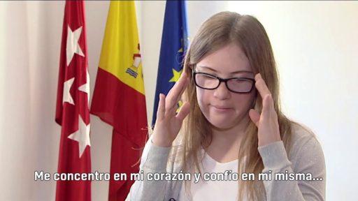 Camino Martínez, campeona de la Superación personal