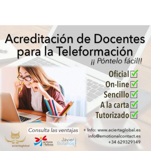 ACREDITACIÓN DE DOCENTES PARA LA TELE-FORMACIÓN