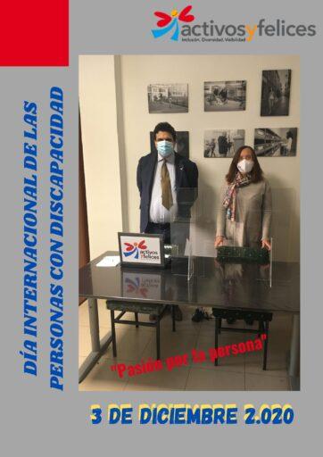 3 DICIEMBRE: DIA INTERNACIONAL DE LAS PERSONAS CON DISCAPACIDAD.