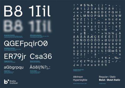 Nueva ayuda a las personas que tienen problemas de visión:  Braille Institute crea una tipografía gratuita